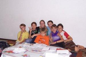 With my ESL class in Kazakhstan