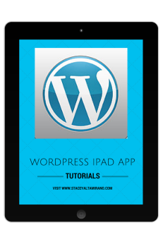 WordPress iPad tutorials