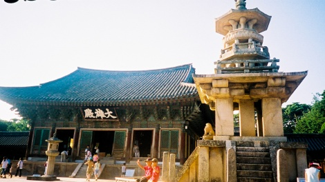"The stone pagoda Dabotap, also known as Pagoda of Many Treasures"" is reported to have been built in the year 751."