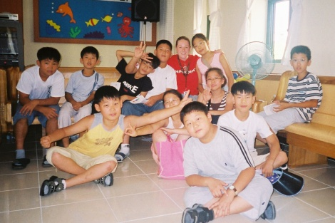 My first ESL class-I had the largest class and we always had so much fun!