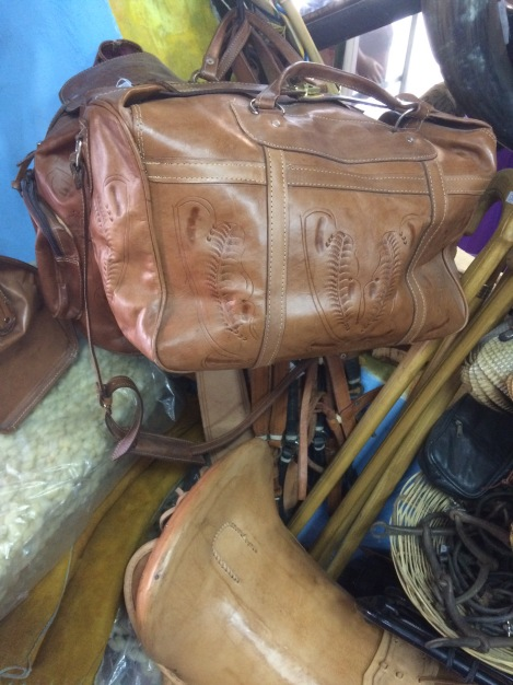 Beautiful handmade leather bags traditional and found in many shops