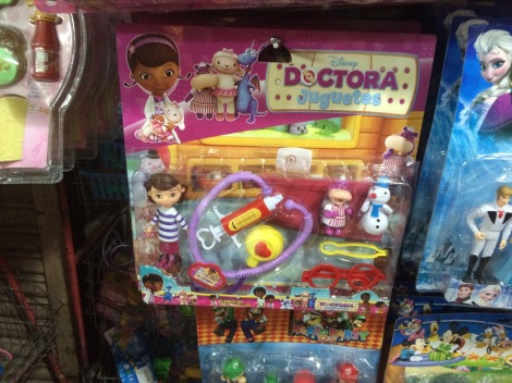 I couldn't justify buying a Doc McSuffins whose skin color was altered to make it more marketable in South America
